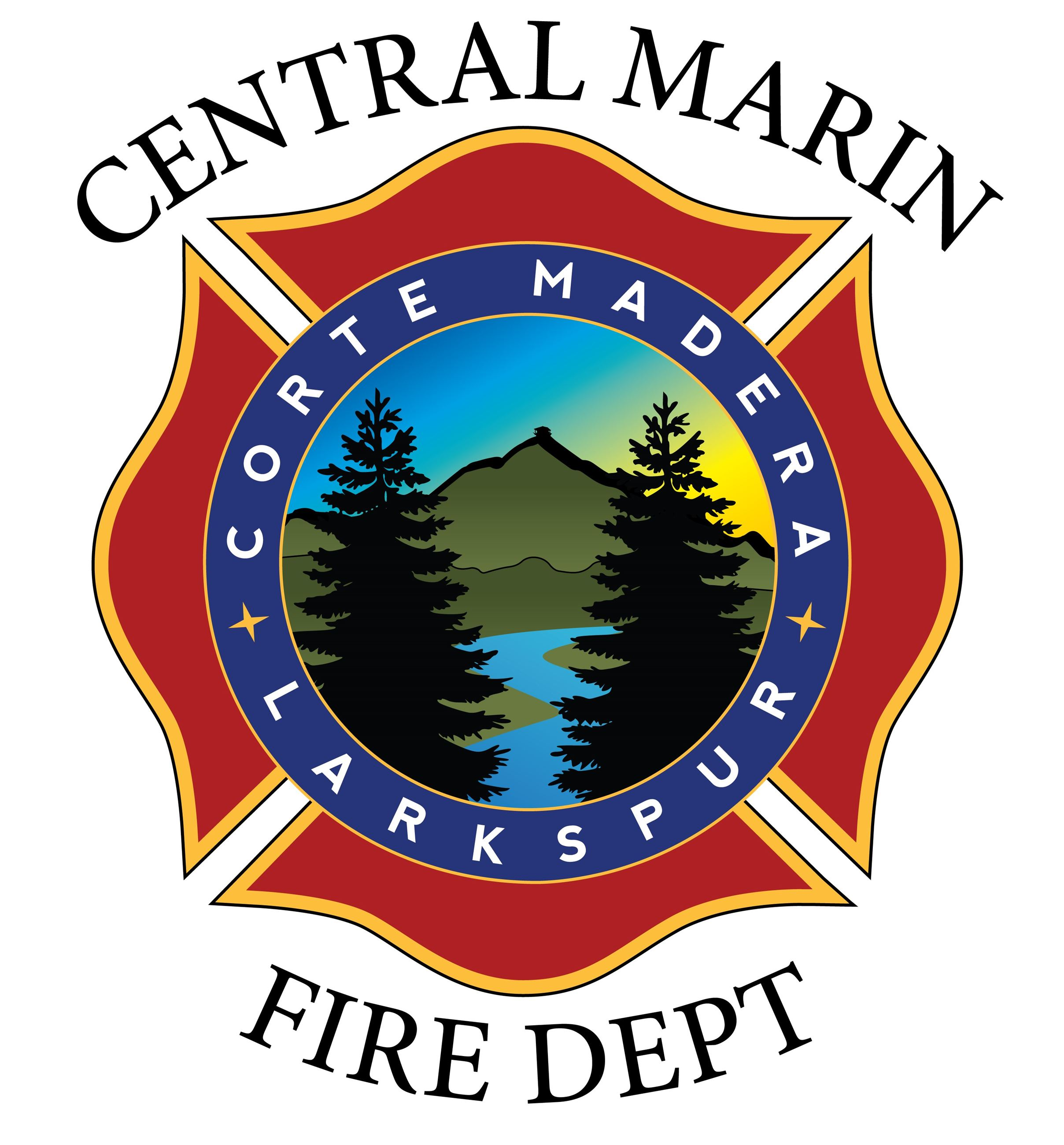Central Marin Fire Logo