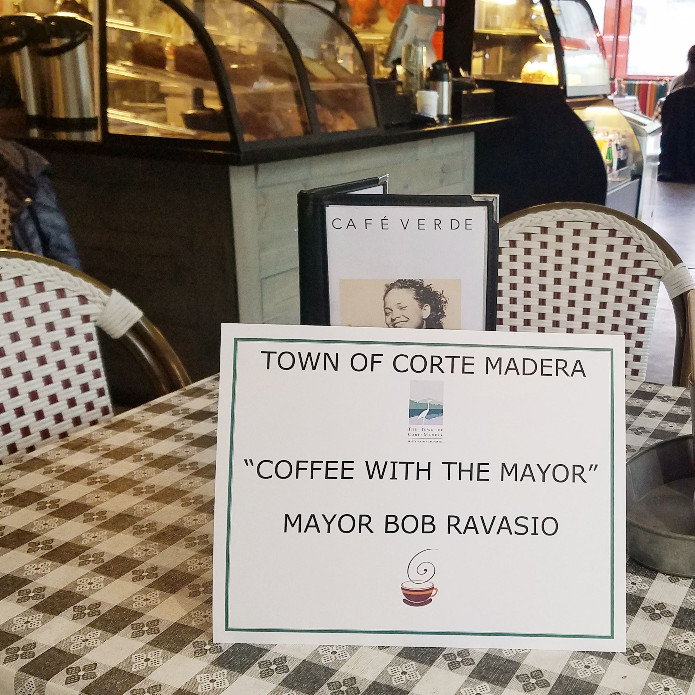 Coffee With The Mayor Jan 19 10am Cafe Verde