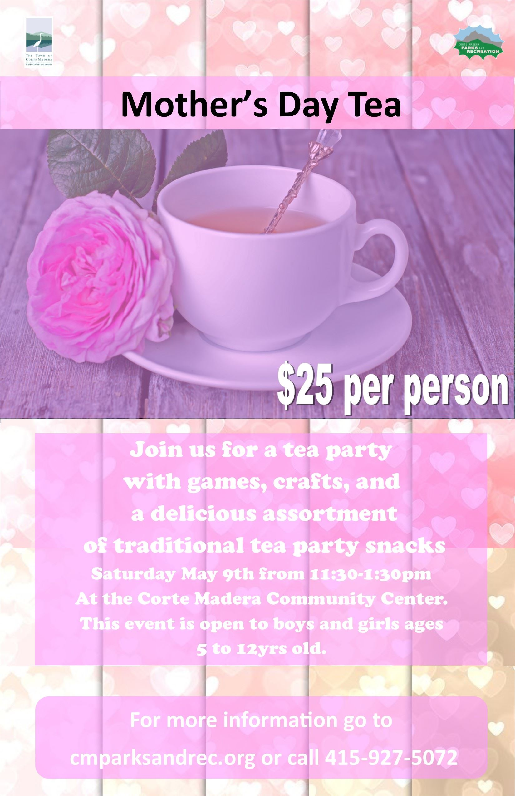 Enchanted Mothers Day Tea 2019