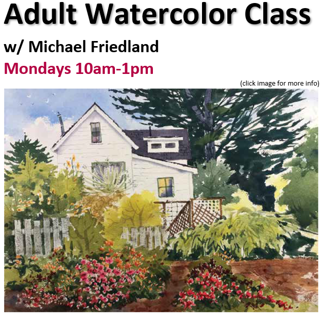 Adult Watercolor Classes