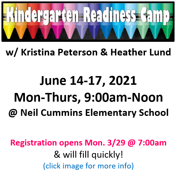 Kindergarten Readiness Camp.NC