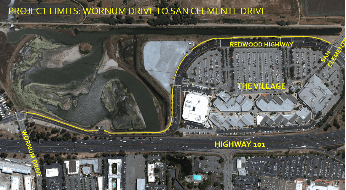 Redwood Highway Pathway Project