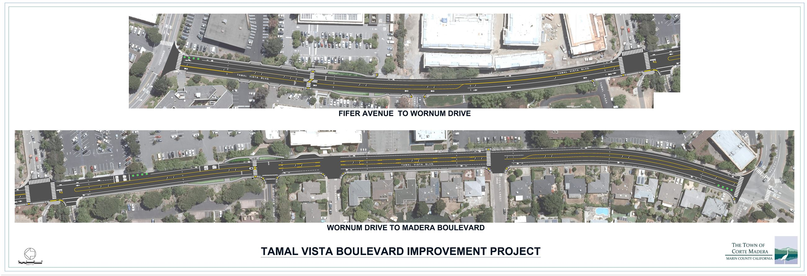 Tamal Vista Complete Streets Project BPAC Meeting exhibit