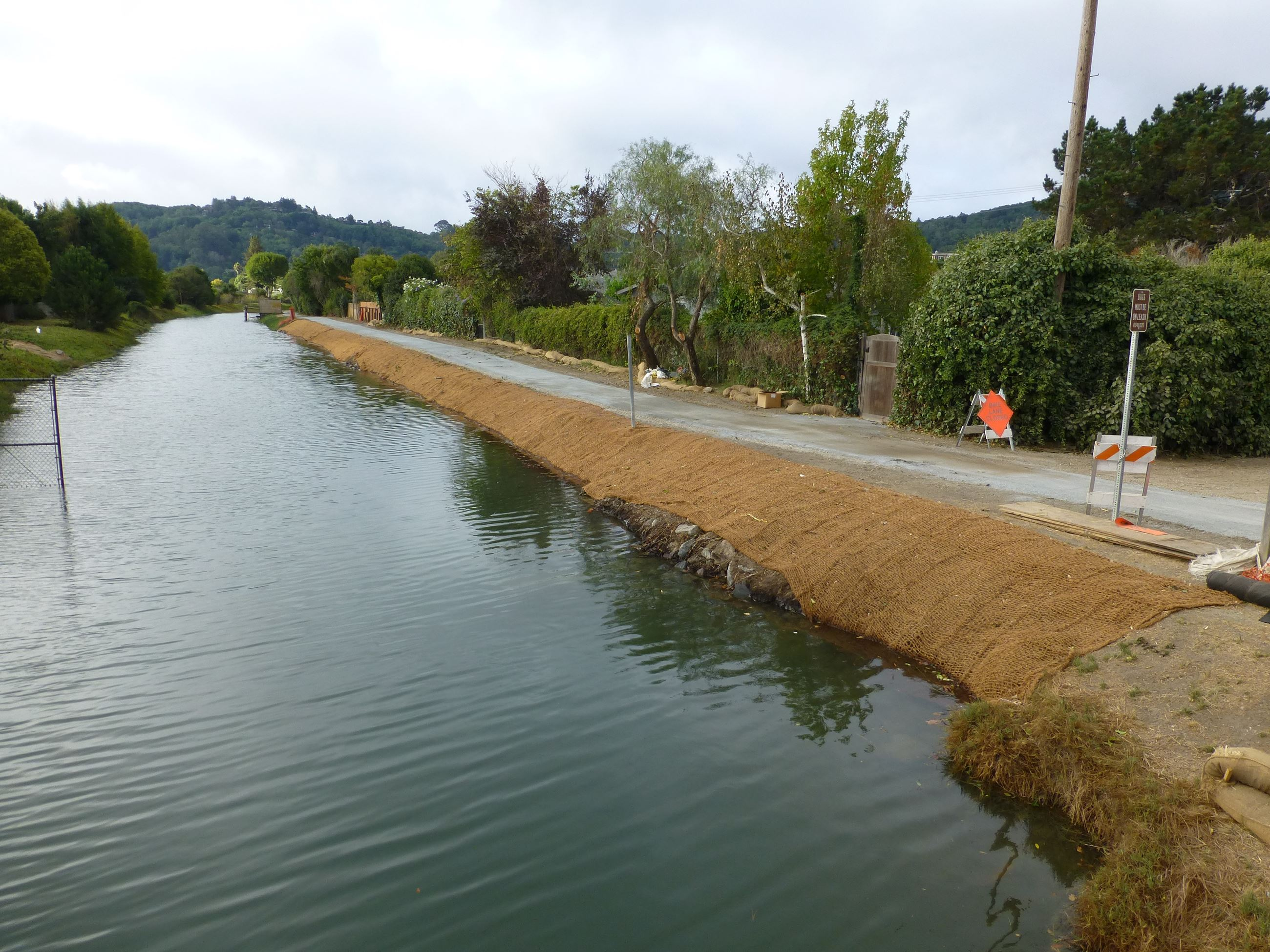 High Canal Bank Repair Project